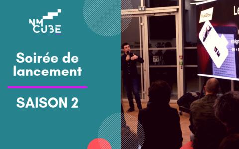 Soirée de lancement de la deuxième saison NMcube le 22 janvier 2019 à Nantes
