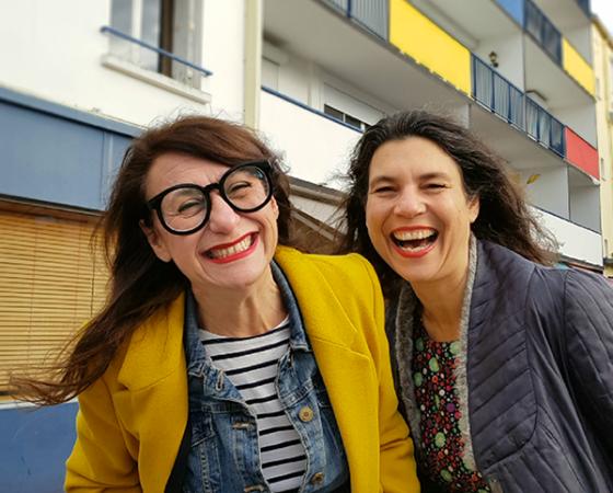 Isabelle Nivet & Gaëlle Lescombat [Sorties de Secours]